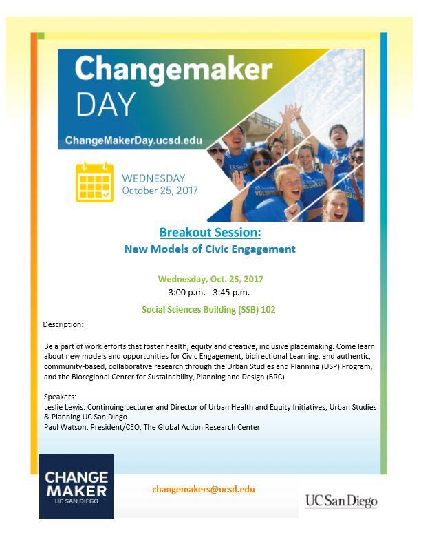 Changemaker Day Graphic