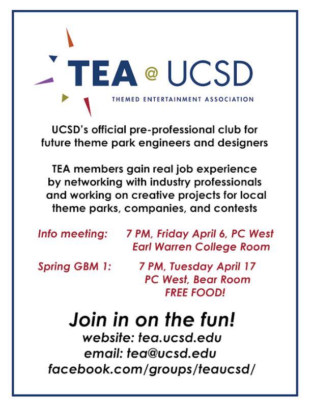 TEA @ UCSD