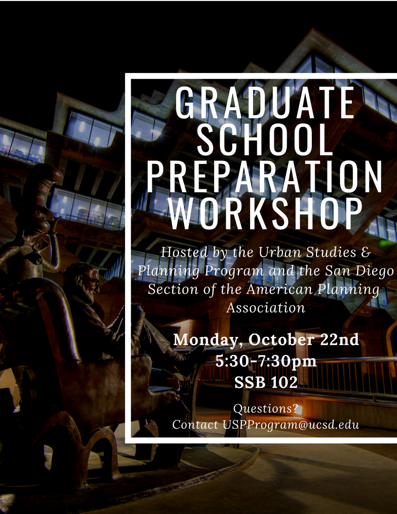 Grad School Workshop Flyer