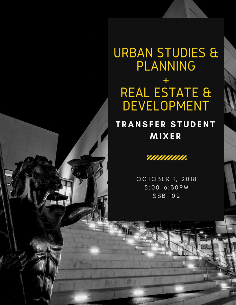 USP RED Transfer Student Mixer Flyer