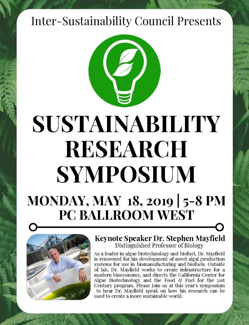 ISC Research Symposium Flyer 2020